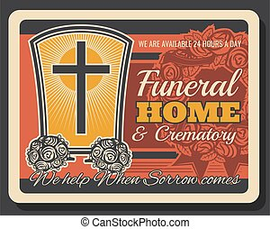 Funeral home and crematory service company