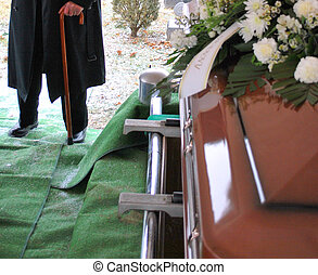 Funeral services. - Funeral services for a loved one.