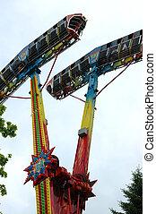 funfair devil's merry-go-round