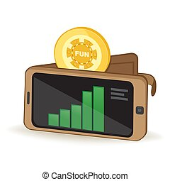 Funfair Token Cryptocurrency Coin Digital Wallet