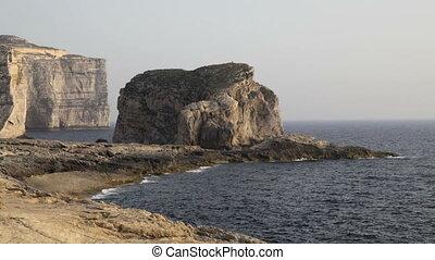 Fungus Rock, Malta - Fungus Rock - an islet made up of...