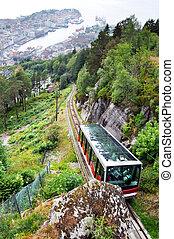 funicular, bergen