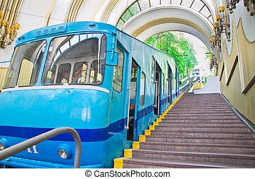 funicular, estación