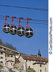 funicular, grenoble, ferrocarril