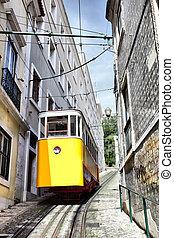 funicular, lisbon's