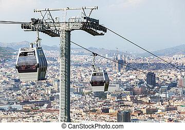 funicular, moderno
