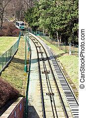 funicular, praga, histórico