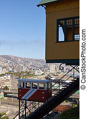 funicular, valparaiso