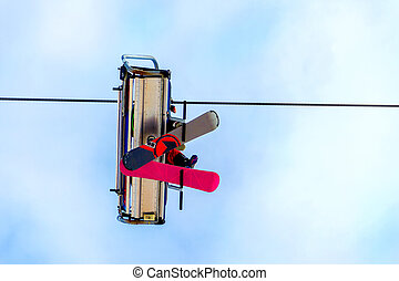 funicular, vista inferiora