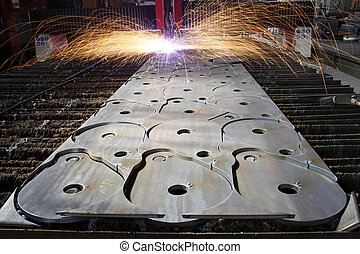 funken, industrieller laser