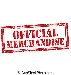 funktionær, merchandise-stamp