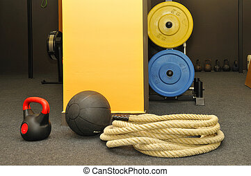 funktional, -, fitness, und, crossfit