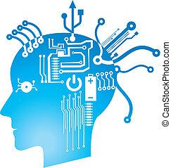 brain circuit - funky brain circuit.