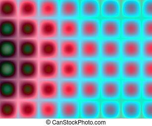 Funky dots - Digital  background - fractal