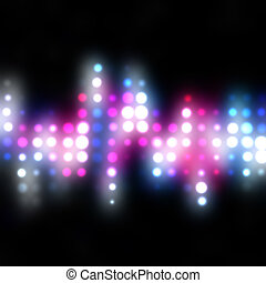 Funky Glowing Dots