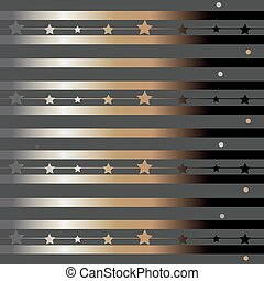 Funky Pattern with glittering stripes