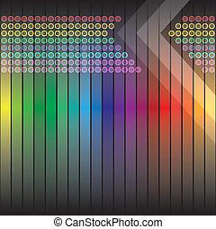 Funky Rainbow Backdrop