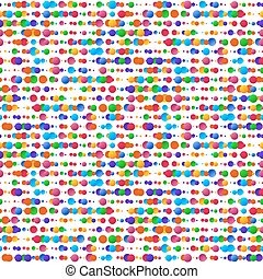 Funky seamless vector background, 60s design