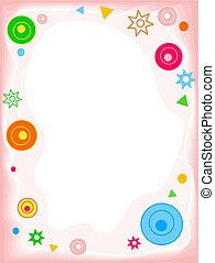Funky Shapes Border - Funky shapes border. Useful for ...