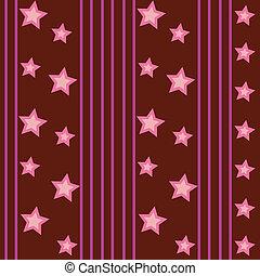 Funky Stars Pattern