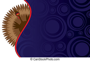 Funky Thanksgiving Background