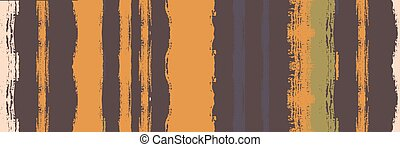 Funky Vertical Stripes Seamless Background. Spring Summer Distress Stripes. Dirty Graffiti Trace. Watercolor Lines Design. Autumn