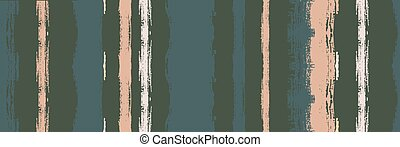Funky Vertical Stripes Seamless Background. Torn Distress Trace. Winter Autumn Modern Fashion Print. Hand Drawn Lines Design.