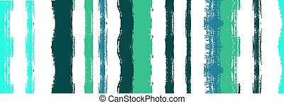 Funky Vertical Stripes Seamless Background. Watercolor Lines Design. Summer Spring Graffiti Stripes. Cool Vector Watercolor Paint