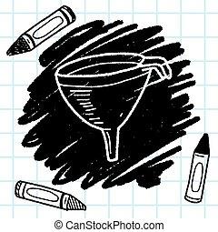 funnel doodle