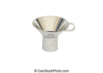 funnel on white background