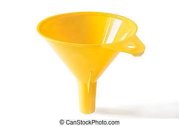 Funnel it is isolated on a white background