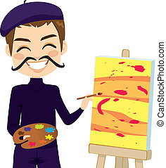 Funny Abstract Artist