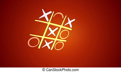 """""""Funny and victorious tic-tac toe game"""" - """"Cheerful 3d..."""