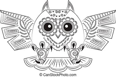 Angry owl Vector Clipart EPS Images. 291 Angry owl clip ...