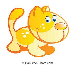 baby cat cartoon