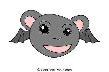 Funny Bat Face