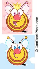 Funny Bees. Collection Set