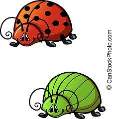 Funny beetles