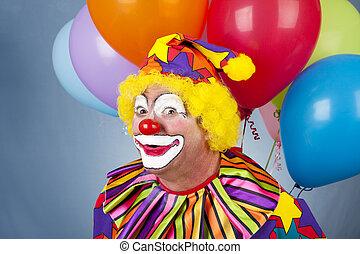 Funny Birthday Clown