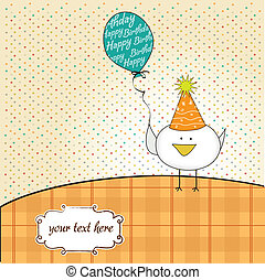 funny birthday party greeting card