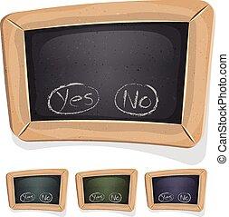 Funny Blackboard Sign For Ui Game