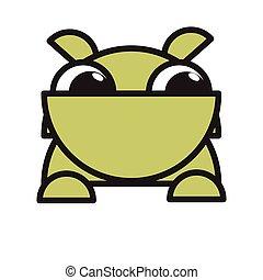 funny bulldog mascot cartoon