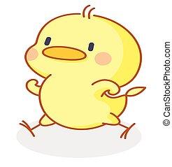 funny cartoon chicks