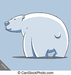 funny cartoon cute bear illustration