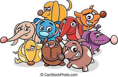 funny cartoon dog characters
