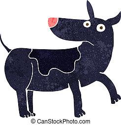 funny cartoon dog