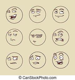 emotional faces