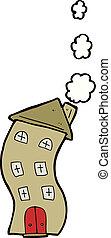 funny cartoon house