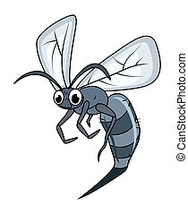 Funny Cartoon Insect