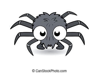 funny cartoon spider - Halloween